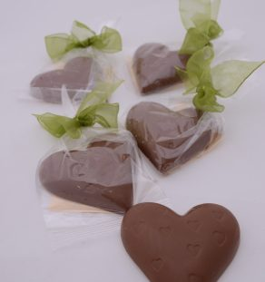 mjölkchoklad hjärtan webb